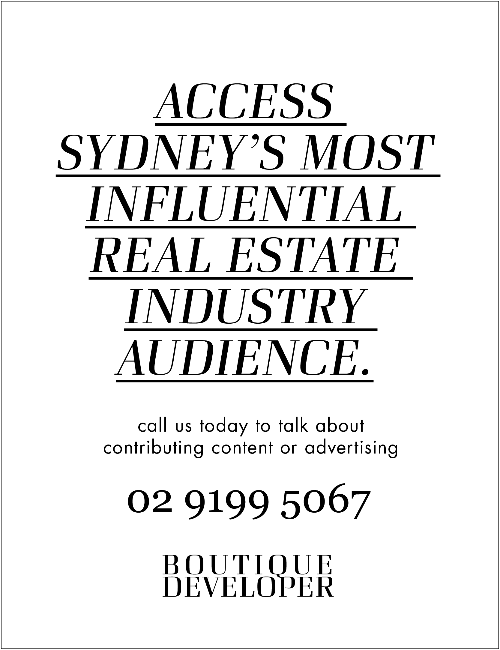 Real estate industry marketing
