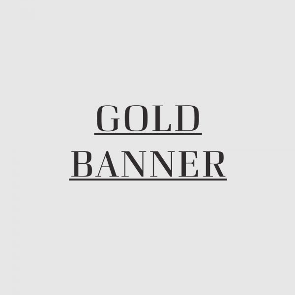 Gold Banner